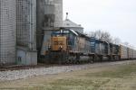 EB CSX 8351 at Sumner, Il..