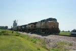 WB UP 6537, 6825, ICE 6448, and BNSF 5265