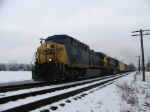 CSX 324 on Q542 Northbound
