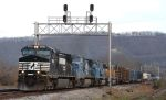 """""""Ex"""" mixed freight"""