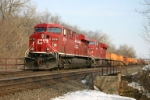 CP 8719 waits for traffic ahead to clear