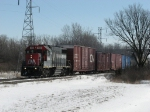 After completing its work in the Saginaw area, 2014 heads back north with the 740 Job