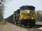 CSX 14 & 90 creep down the siding with Z144