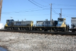 CSX 1181, 1101 at Howell Yard.