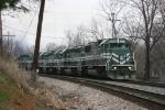 SB EVWR leaving Princeton, In..