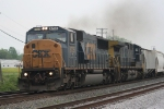 NB CSX 8735, 429 passes the coal loop at Princeton, In..