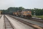 NB empty Union Pacific coal train