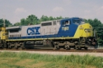 CSX 7392, Who is shooting who