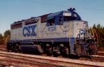 CSX GP40 6728