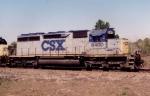 CSX SD40-2 8400