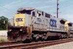 CSX C40-8 7588
