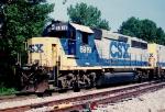 CSX GP40-2 6919
