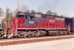 HLCX SD40-3 6086