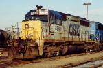 CSX SD40-2 8340