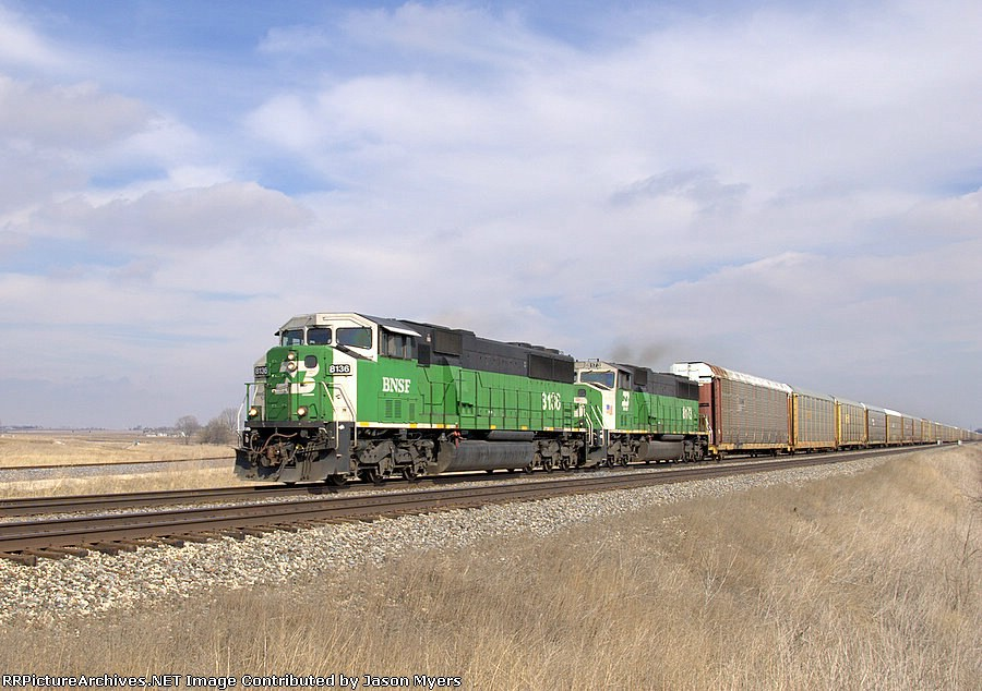 BNSF 8136 and 8173