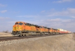 BNSF 7722, 5199, and 5178