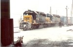CSX 8258 and 8019