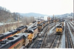 C&O 7475 B&O 3761 (GP40) B&O 7577 (SD40) B&O 4013 (GP40)