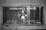 Fairbanks Morse Builders Plate H-12-44