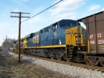 CSX 755 on N229 Northbound