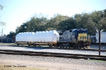 CSX 5935 waits for a local assignment on 3-Drill
