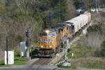 SB freight with yesterdays 606 power minus 5510