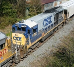 CSX 5510 on SB freight