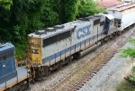 CSX 8574 on Q609 heading for the bypass