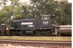 """NS switcher sublettered """"CRN"""""""