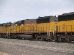 UP 2204 #2 power in an EB manifest at 11:43am