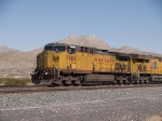 UP 6806 leads a WB grain train at 3:11pm