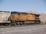 UP 7244 rear DPU in a WB grain train at 3:11pm