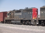 SSW 7290 #2 power in an EB local manifest at 1:13pm
