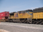 UP 8549 #3 power in an EB doublestack at 12:48pm