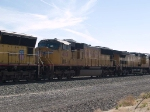 UP 4631 #3 power in a WB manifest at 10:27am