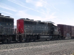 SSW 7285 #2 power in a WB local manifest at 10:39am