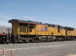 UP 5503 #3 power in a WB manifest at 1:07pm