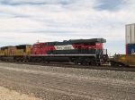 FXE 4646 #2 power in a WB doublestack at 9:06am