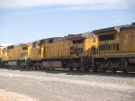 UP 9591 #2 power in an EB autorack at 9:58am