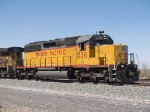 UP 3311 leads an EB doublestack KCIAT (City of Industry, CA - Atlanta) at 2:20pm