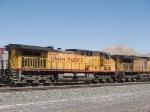 UP 6653 #1 DPU in a WB coal train at 2:20pm