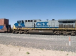 CSX 110 #3 power in an EB doublestack ILBNO (Long Beach - New Orleans) at 3:10pm