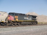 UP 6319 DPU in a WB grain train at 3:38pm