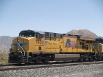 UP 7600 leads a WB doublestack IMNLB-29 (Marion, AR - Long Beach) at 12:03pm