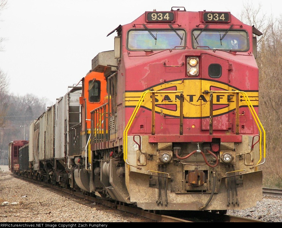 Stopped Southbound BNSF Manifest