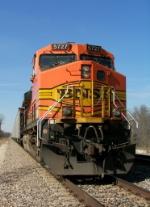 Northbound BNSF Empty Coal Train DPU