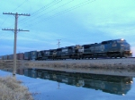 Westbound NS Auto Train
