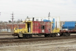 Northbound TRRA Transfer Caboose