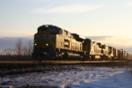 UP 8600 leads Q351 at sun up