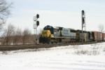 Q209 heads for Gibson Yard